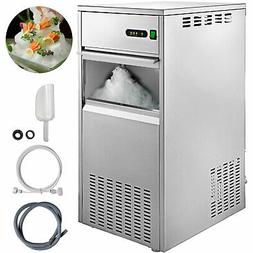 Snow Flake Ice Maker 220lbs/100KG Snow Crusher 304 Stainless