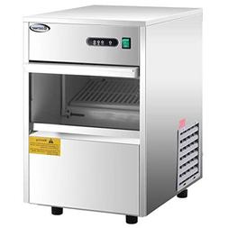 COSTWAY Stainless Steel Commercial Ice Maker 58LB/24h Automa