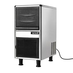 Costway Stainless Steel Commercial Ice Maker 110LB/24h Frees