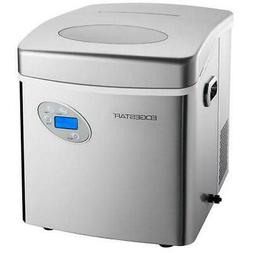 stainless steel countertop ice maker