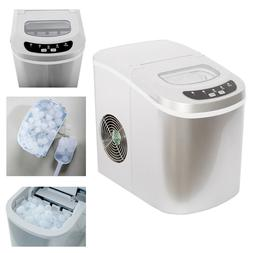 SMAD Tabletop Ice Maker Portable Countertop Ice Machine Home
