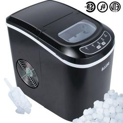 Tiny Portable Countertop Ice Maker Commercial Nugget Cube Ea
