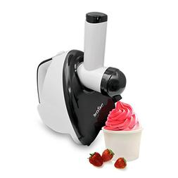 NutriChef Upgraded 2-in-1 Dessert Maker  Fruit Blender, Soft