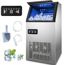 US 150LB Built-In Commercial Ice Maker Undercounter Freestan